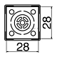Наконечник Hakko N51-22 BGA