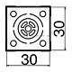Наконечник Hakko N51-23 BGA