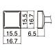 Наконечник Hakko T12-1207 Quad